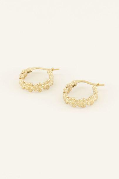 Oorringen bloemen klein | De mooiste oorbellen | My Jewellery