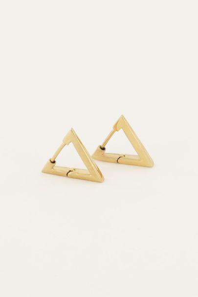 Ohrringe Dreieck 16mm| My Jewellery