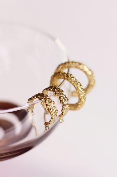 Small flower earrings