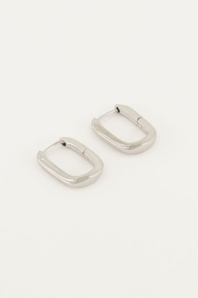 Ohrringe oval klein