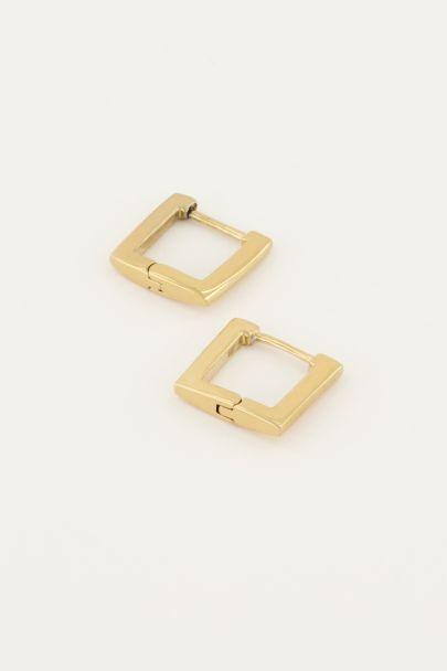 Ohrringe quadratisch 12mm