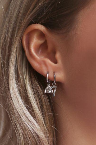 Moments Buddha earring