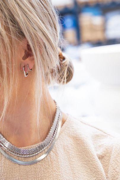 Ohrringe quadratisch klein