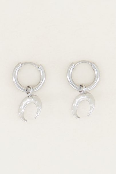 Oorringen buffalo, minimalistische oorbellen My Jewellery