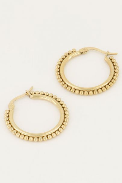 Oorringen groot bolletjes | My Jewellery