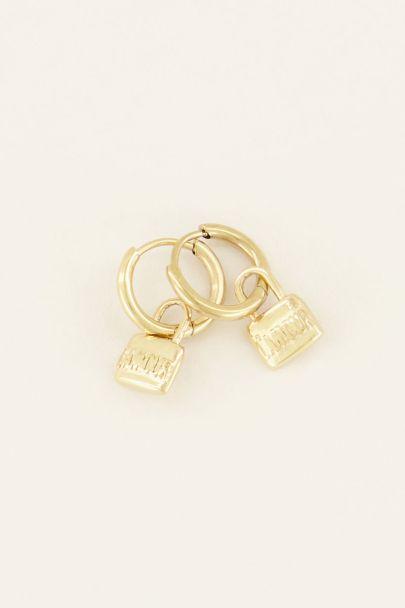Oorringen amour lock | My Jewellery