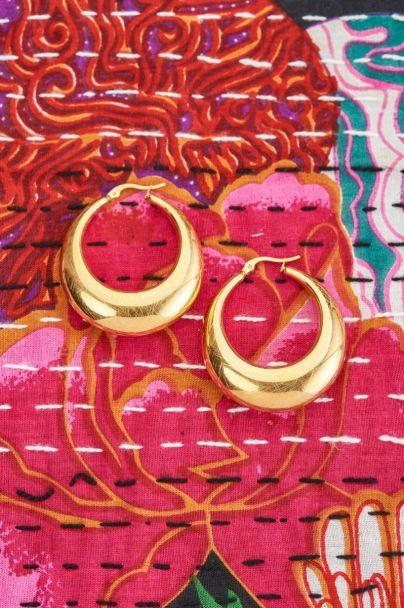 Earrings 70's matt