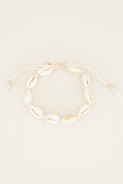Armband/enkelbandje schelpen