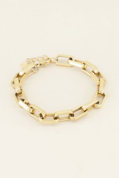 Grove schakelarmband kopen | My Jewellery