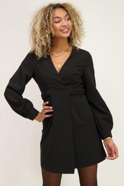 Blazer jurk met elastieke band