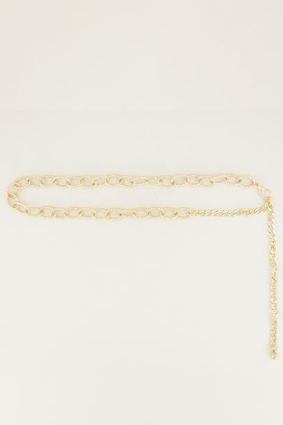 Chain strap links glitter