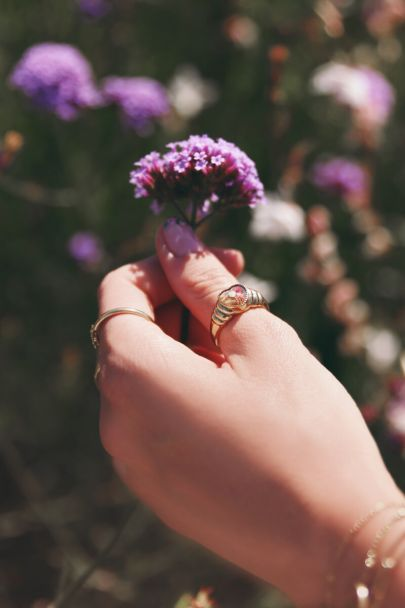 Ring wildflower hartje