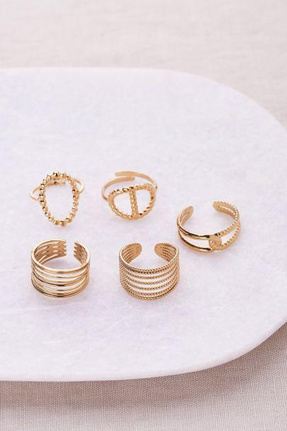 Mehrlagige Ringe