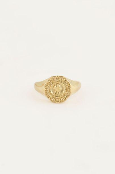 Ring munt Sun Rocks | My Jewellery