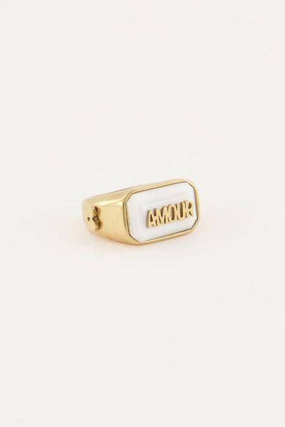 Ring statement beige | My Jewellery