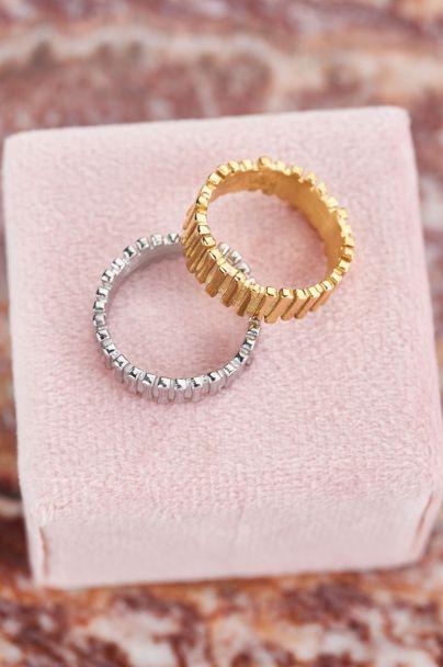 Ring met staafjes
