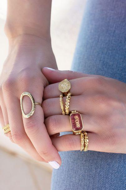 Ring patroon Bali