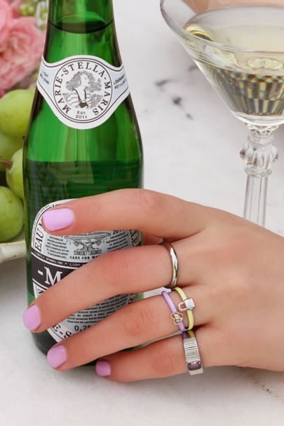 Ring lilac love