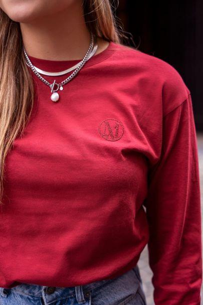 Rood shirt met My Jewellery logo