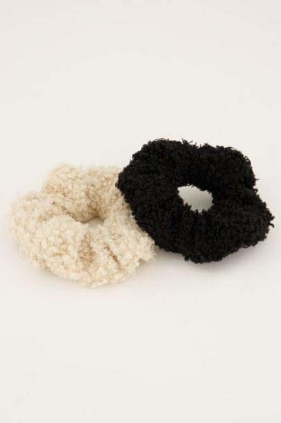 Scrunchie set met teddy