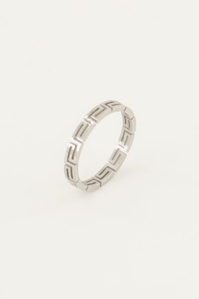 Shapes ring patroon