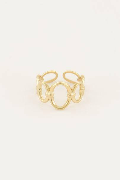 Statement ring met rondjes | Ringen | My Jewellery