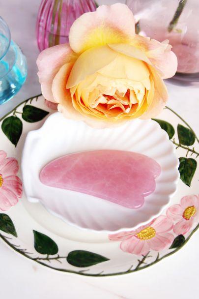 Roze Gua Sha massagesteen