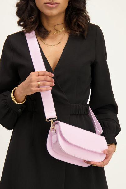 Roze schoudertas