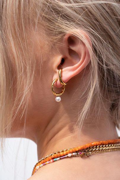 Suspender earring classic