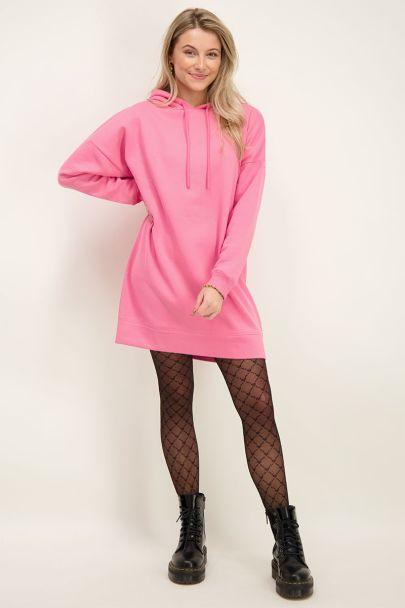 Rosa Pulloverkleid