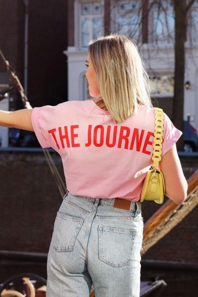 Roze shirt the journey
