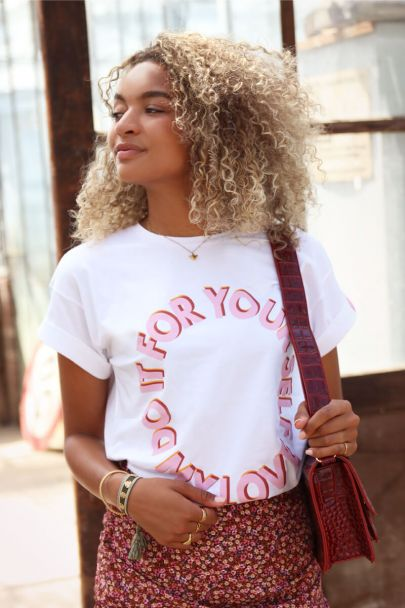 White T-Shirt do it for yourself