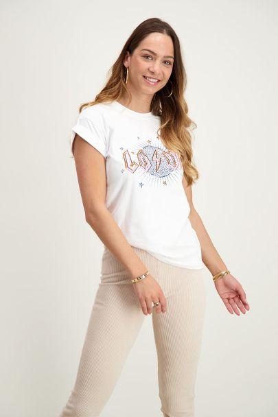 Wit shirt love