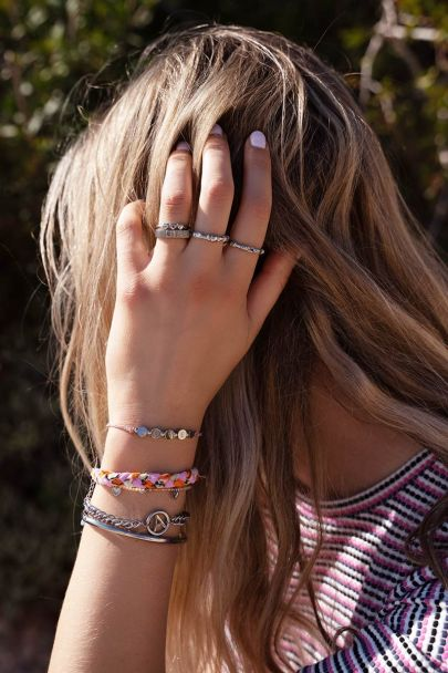 Touw armband love