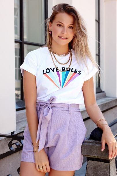 Wit shirt love rules