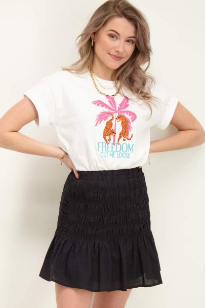 Wit t-shirt freedom cut me loose
