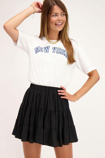 White T-shirt New York