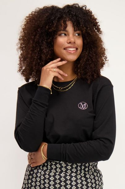 Zwart shirt My Jewellery logo