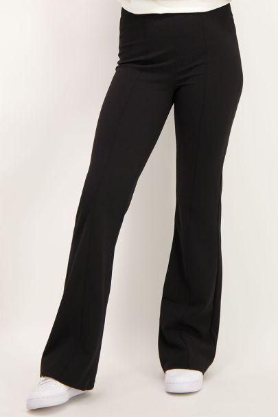 Zwarte flared pants