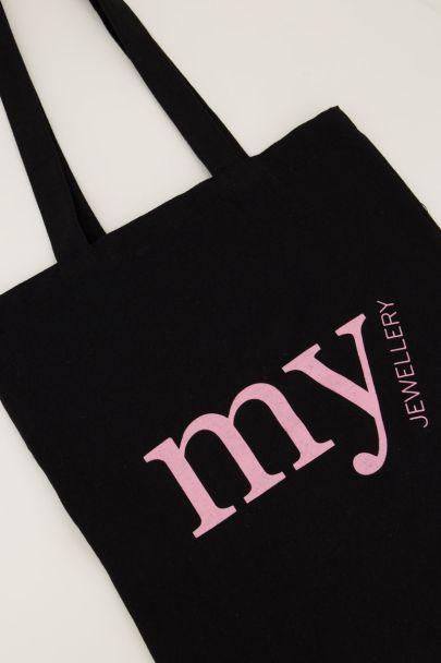 Black My Jewellery tote bag