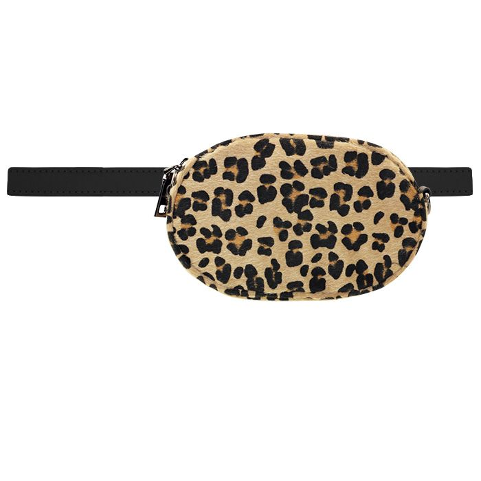 Round Bum Bag - Leopard
