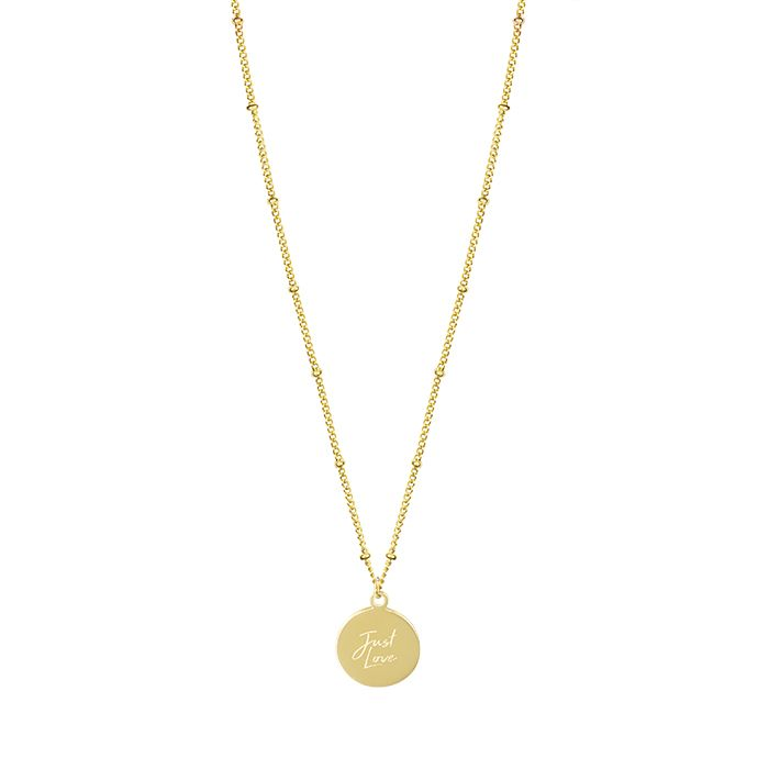 Minimalistische ketting goud Just Love My Jewellery