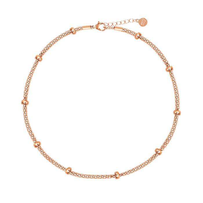 Little Dots Anklet-Rose goud