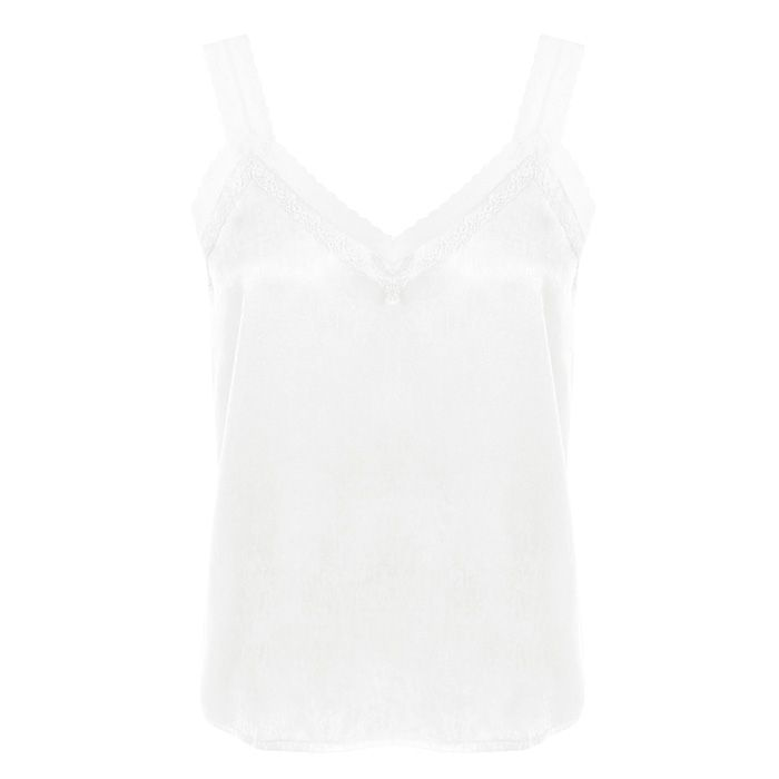 Basic Lace Top - White