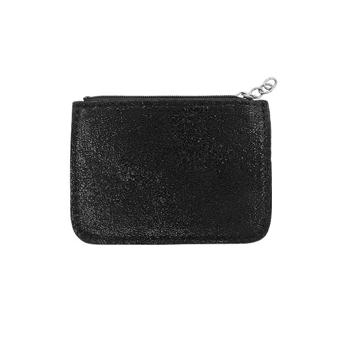 Black Small Glitter Wallet