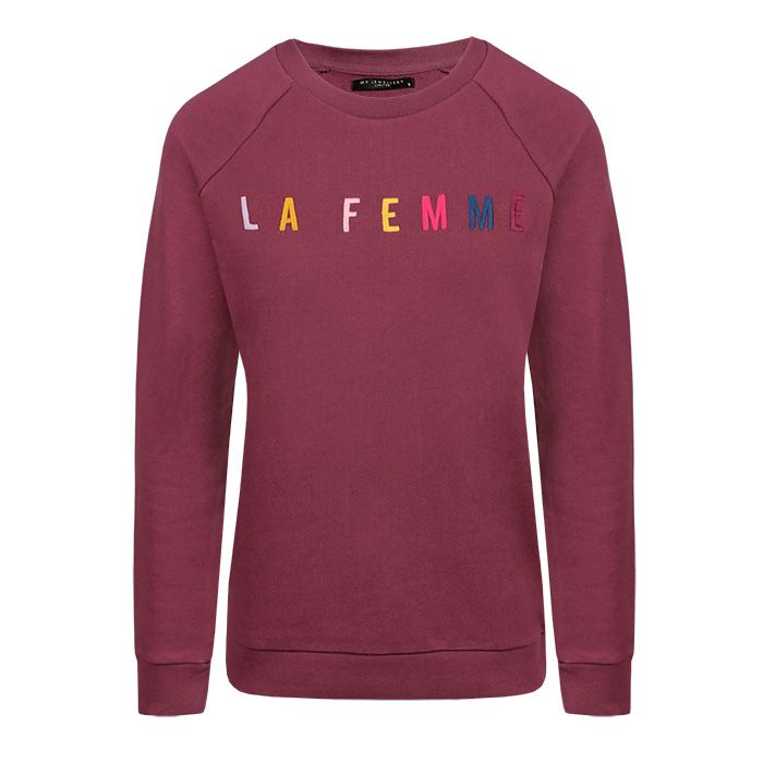 Dark Cherry Sweater La Femme