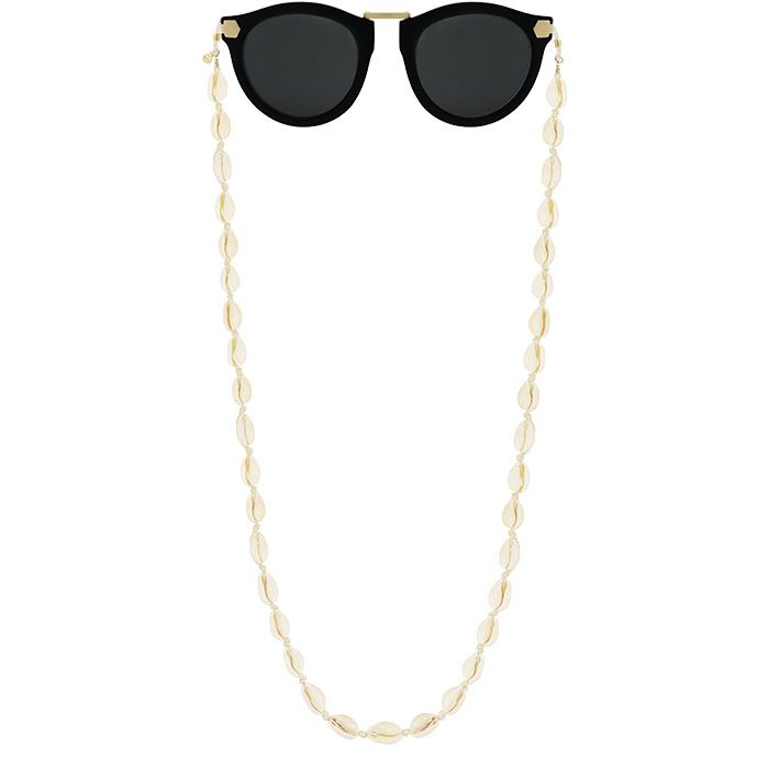 Zonnebrillen koord met schelpen, zonnebrillen touwtje My Jewellery