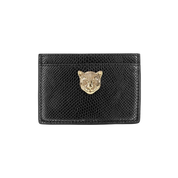 Zwarte pasjeshouder luipaard, zwarte kaarthouder My Jewellery