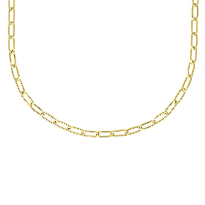 Ketting ovale schakels, schakelketting My Jewellery