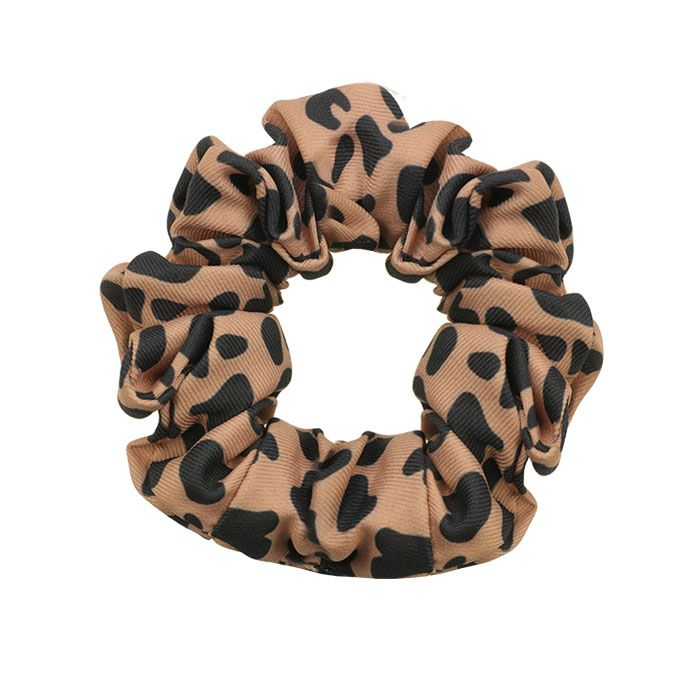 Scrunchie luipaard print, luipaard scrunchie My Jewellery